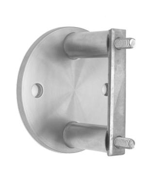V2A Wandhalterung 150 mm höhenverstellbar