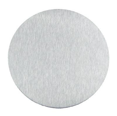 V2A Edelstahlronde geschliffen 100//6 mm ohne Bohrung